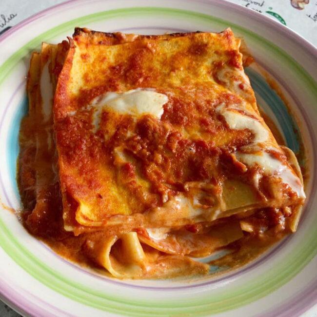 Lasagne al pomodoro - Le Ricette CibUbi