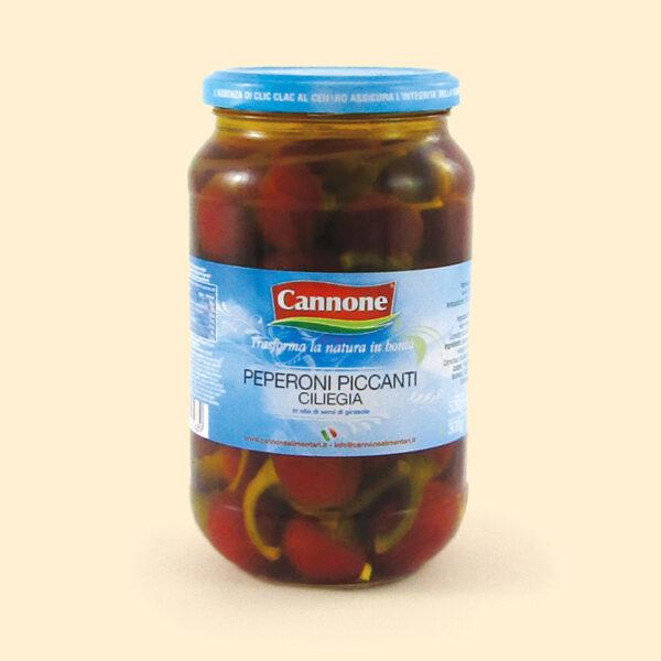 Peperoni piccanti ciliegia | Dalla terra CibUbi
