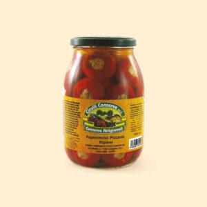 Peperoni ripieni tonno | Dalla terra CibUbi