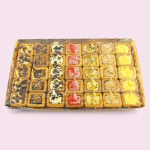 Tartelle quadrate | Pasticceria CibUbi